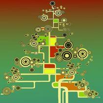 XMAS TREE I square by Kasparian Tamar