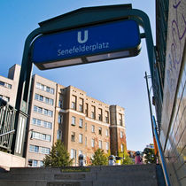 U-Bahnhof - Senefelderplatz - Berlin by captainsilva