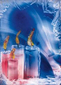Vorweihnachtlich in Blau  von Ulrike Kröll