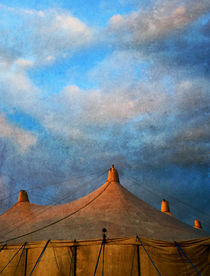 Tents At Dusk by florin