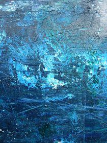 Struktur in blau von Martin Uda