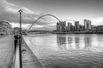 Black and white Tyne by Dan Davidson
