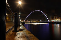 Quayside at night by Dan Davidson