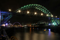 Tyne at night by Dan Davidson