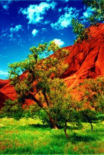 Ayers Rock Resort Australien by aidao