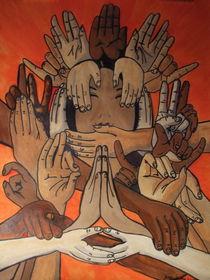 Namaste by Justin Latimer