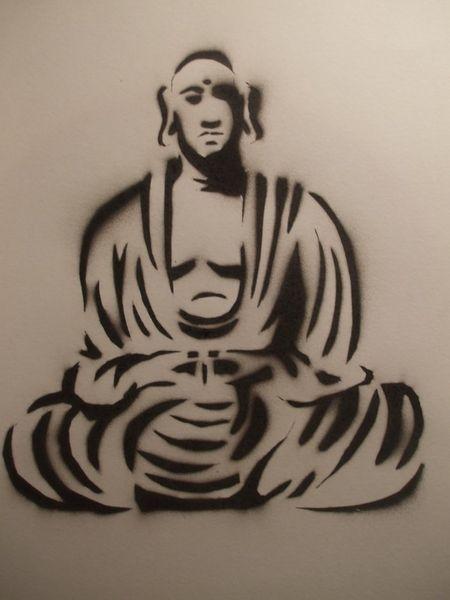 Spraypaint-buddha