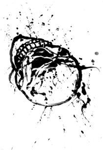 black skull in heaven by drunken-tears