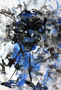 blue skull by drunken-tears