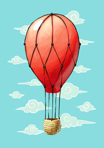 Hot Air Balloon von freeminds