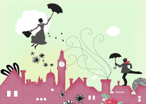 Mary Poppins-London by Elisandra Sevenstar