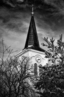 Az inámi templom tornya by Robert Fagyas