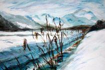 Winterlandschaft by Ellen Fasthuber-Huemer