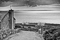 Road and houses on the west coast of Ireland by kbhsphoto