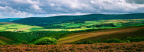Summer View Over Exmoor National Park von Craig Joiner