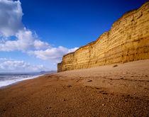 Cliffs at Burton Beach von Craig Joiner