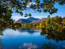 Boat on Derwent Water von Craig Joiner
