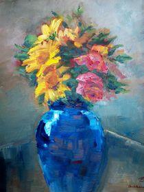 Geburtstagsblumen by Ellen Fasthuber-Huemer