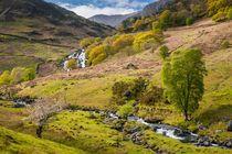 Nant Gwynant Waterfalls VI von Maciej Markiewicz