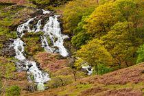 Nant Gwynant Waterfalls III by Maciej Markiewicz