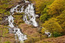 Nant Gwynant Waterfalls V by Maciej Markiewicz