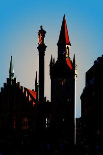 Fantastisches München von Angelika Wiedemeyer