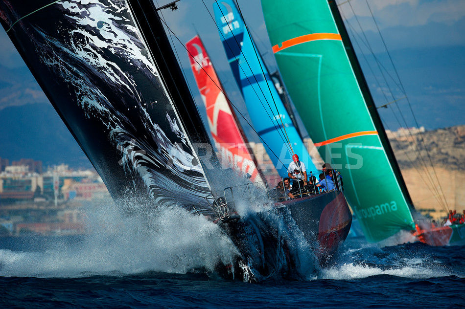 Art print POSTER// CANVAS  Racing yacht