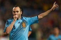 Andres Iniesta Spanish National Team von Xaume Olleros