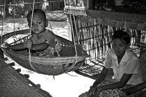 Burmese mother and son von RicardMN Photography