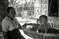 Burmese grandmother and son von RicardMN Photography