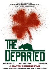 The Departed – Movie Poster of Martin Scorsese's Motion Picture by Christoph Langguth