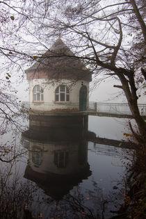 Pumpenhaus im Nebel by Thomas Schulz