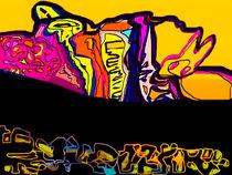 playground of colour IX von Pia Schneider