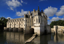 Chateau Chenonceau in the Loire Valley by Louise Heusinkveld