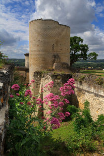 Chateau Chinon, Loire Valley, France von Louise Heusinkveld