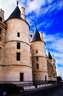 Towers of the Conciergerie, Paris von Louise Heusinkveld
