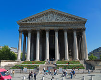 La Madeleine, Paris by Louise Heusinkveld