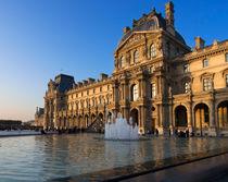 Louvre Pavilion de Richelieu von Louise Heusinkveld