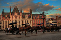 Markt Square, Brugge by Louise Heusinkveld