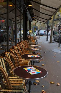 Paris Bistro by Louise Heusinkveld