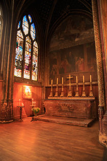 Chapel in St Severin Church, Paris by Louise Heusinkveld