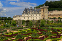 Chateau de Villandry, Loire Valley, France by Louise Heusinkveld