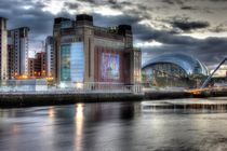 Baltic Mill and Sage Gateshead  by Dan Davidson