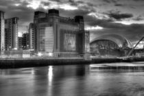 Gateshead Black and White by Dan Davidson