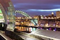 Tyne Cityscape by Dan Davidson