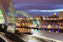 Tyne Cityscape von Dan Davidson