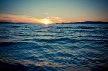 ein Sonnenuntergang by Nathanael Volke