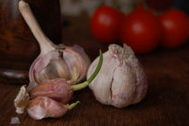 Sprouting garlic by luba-mark