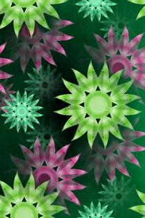 bunte Blüten von Christine Bässler