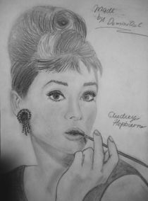 Audrey Hepburn by dominique-1